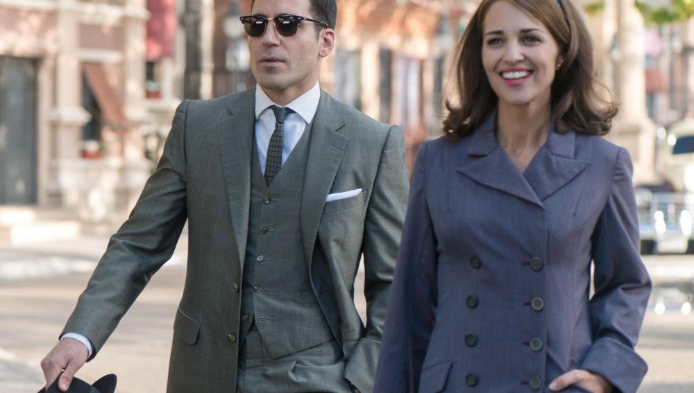 Alberto y Ana visitan Nueva York en la segunda temporada de 'Velvet'