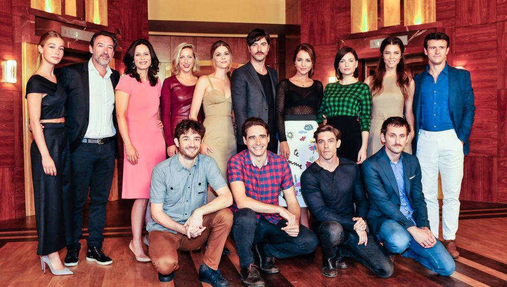 Presentación ante la prensa de la tercera temporada de Velvet