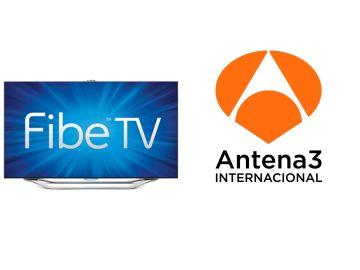 Antena 3 y FIBETV