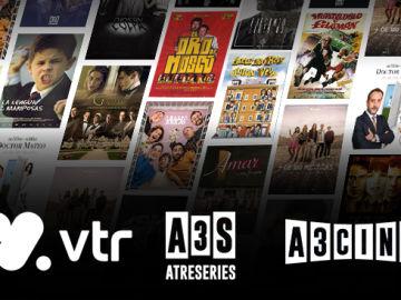 Atreseries y Atrescine ya pueden verse en VTR